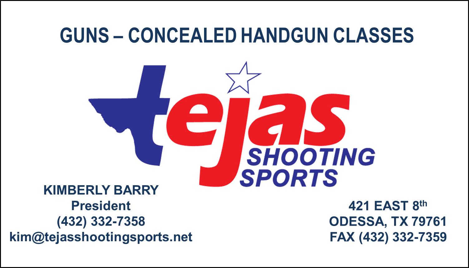Click to visit Tejas Shooting Sports!